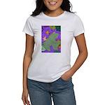 Fallen Leaves (purple) Women's T-Shirt
