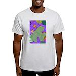 Fallen Leaves (purple) Light T-Shirt