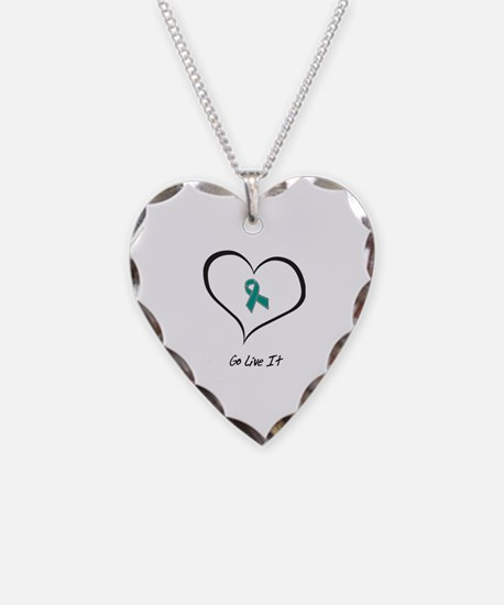 Cute Allergies Necklace Heart Charm