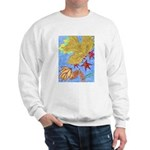 Fallen Leaves (blue) Sweatshirt