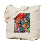 Three Petals (peach) Tote Bag