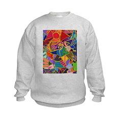 Three Petals (peach) Sweatshirt