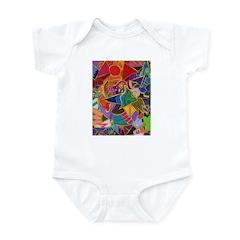 Three Petals (peach) Infant Bodysuit
