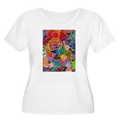 Three Petals (peach) T-Shirt