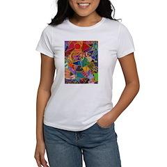 Three Petals (peach) Women's T-Shirt