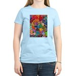 Three Petals (peach) Women's Light T-Shirt