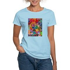 Three Petals (peach) Women's Light T-Shirt