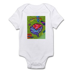 Seeing Comb Infant Bodysuit