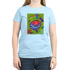 Seeing Comb Women's Light T-Shirt