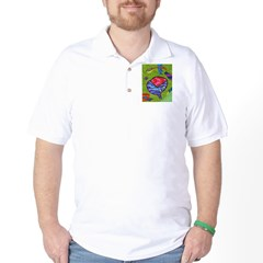 Seeing Comb Golf Shirt