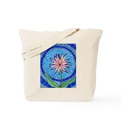Flower Aura Tote Bag