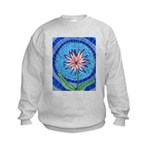 Flower Aura Kids Sweatshirt