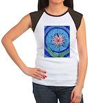 Flower Aura Women's Cap Sleeve T-Shirt