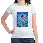 Flower Aura Jr. Ringer T-Shirt
