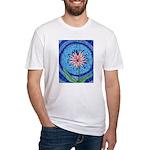 Flower Aura Fitted T-Shirt