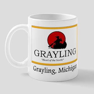 Grayling MI Flag Mug