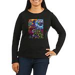 Degeneracy Women's Long Sleeve Dark T-Shirt