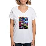 Degeneracy Women's V-Neck T-Shirt