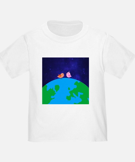 Two Chicks on top of the world T-Shirt