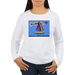 Floating Boat Women's Long Sleeve T-Shirt