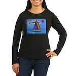 Floating Boat Women's Long Sleeve Dark T-Shirt
