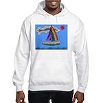 Floating Boat Hooded Sweatshirt
