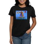 Floating Boat Women's Dark T-Shirt
