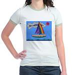 Floating Boat Jr. Ringer T-Shirt