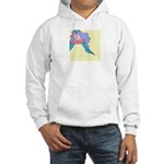 Orchid in Repose Hooded Sweatshirt