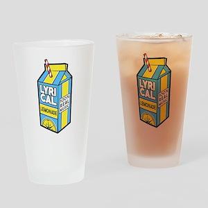 Lyrical Lemonade Drinking Glass