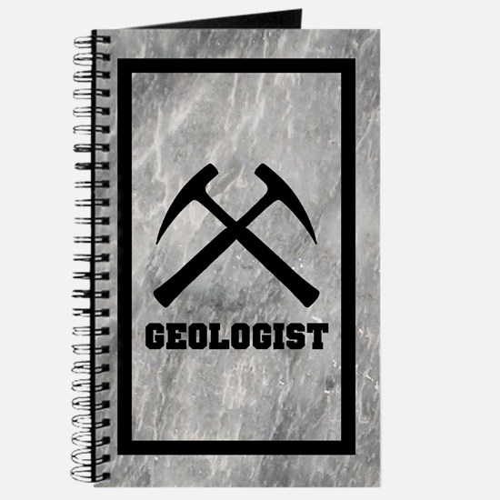 Geologist Journal With Marble Background