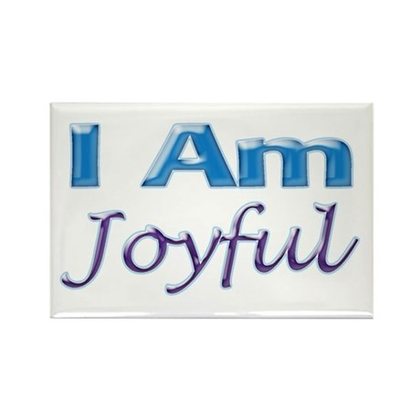 I Am Joyful Rectangle Magnet (100 pack)