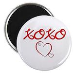 XOXO Heart Magnet