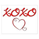 XOXO Heart Small Poster