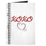 XOXO Heart Journal