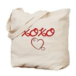 XOXO Heart  Tote Bag