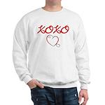 XOXO Heart Sweatshirt