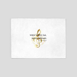 When words fail music speaks. William Shakespeare