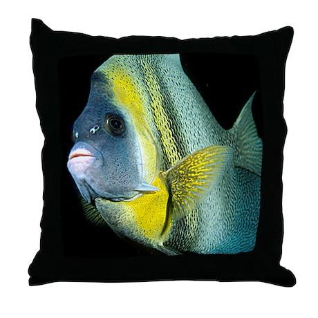 Cortez Angel Fish Throw Pillow