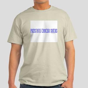 Prostate Cancer Sucks 1.3 Light T-Shirt