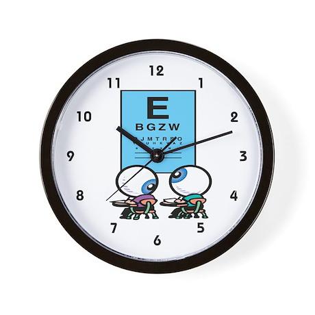 Optometrist Wall Clock