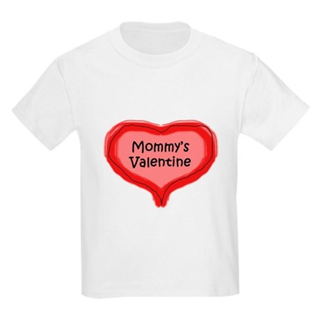 Mommy's Valentine Kids Light T-Shirt