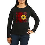 Year of the Rat Women's Long Sleeve Dark T-Shirt