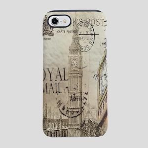 vintage london big ben iPhone 8/7 Tough Case