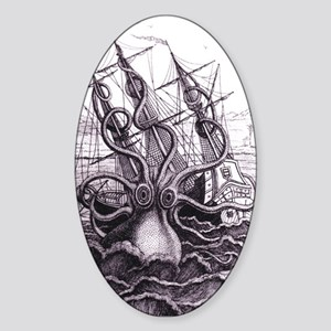 Kraken Oval Sticker