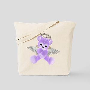 PURPLE ANGEL BEAR 2 Tote Bag