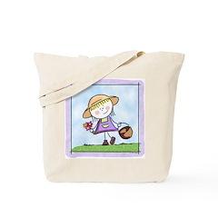 Garden Girl Tote Bag
