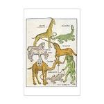 1486 Bestiary Page 11x17 Print