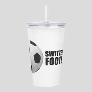 Switzerland Football Acrylic Double-wall Tumbler