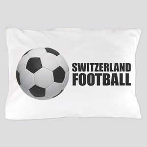 Switzerland Football Pillow Case